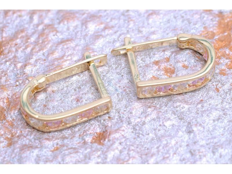 Cercei copii bijuterii aur 14K