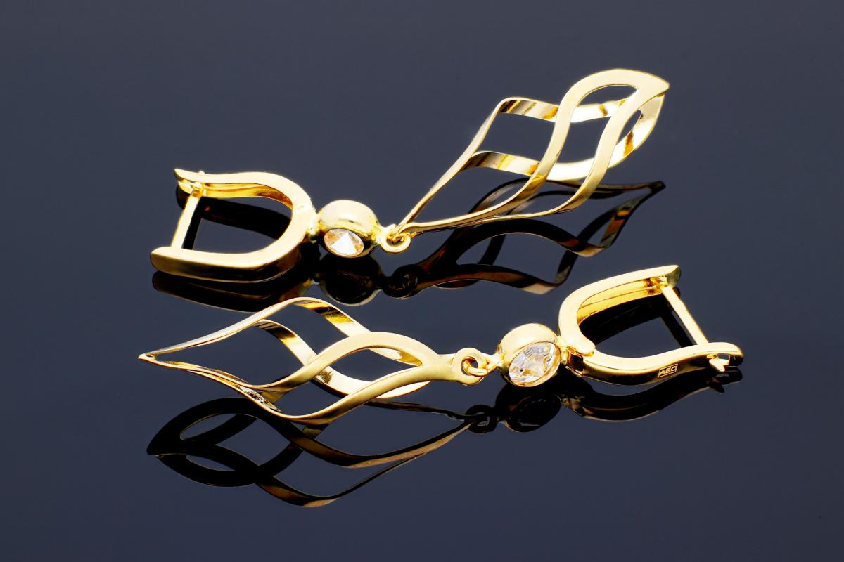 Cercei cu pandant cadouri bijuterii aur
