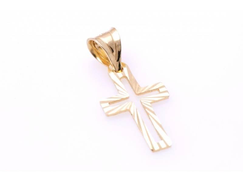 Cruce aur 14K bijuterii