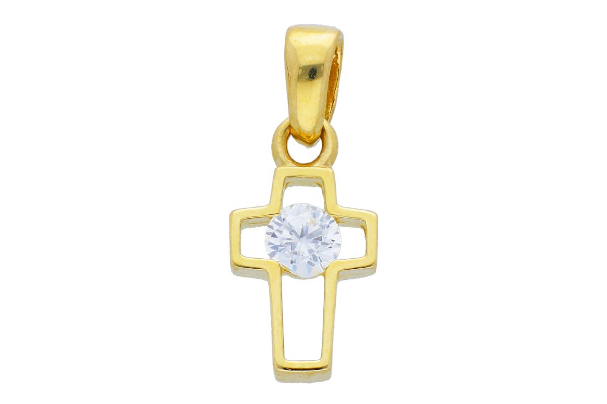 Cruce aur 14K bijuterii din aur