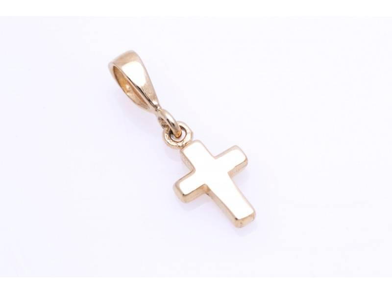 Cruce aur 14k pandant religios