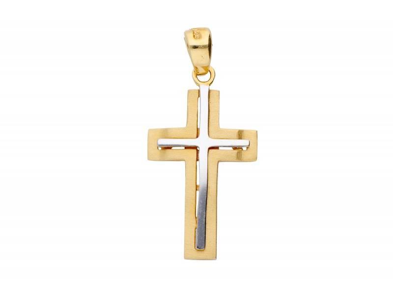 Cruciulita din aur 14k