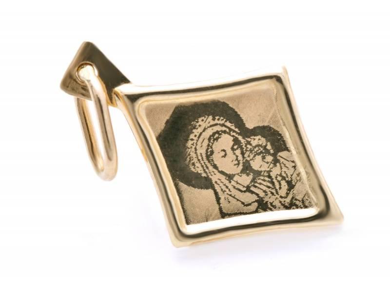 Bijuterii din aur – Iconita din aur 14K galben