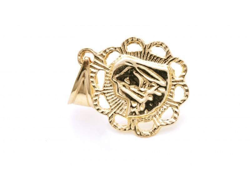 Iconita aur 14K Maica Domnului