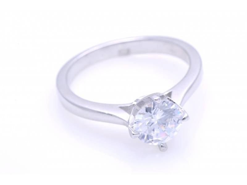 Inel de logodna argint 925