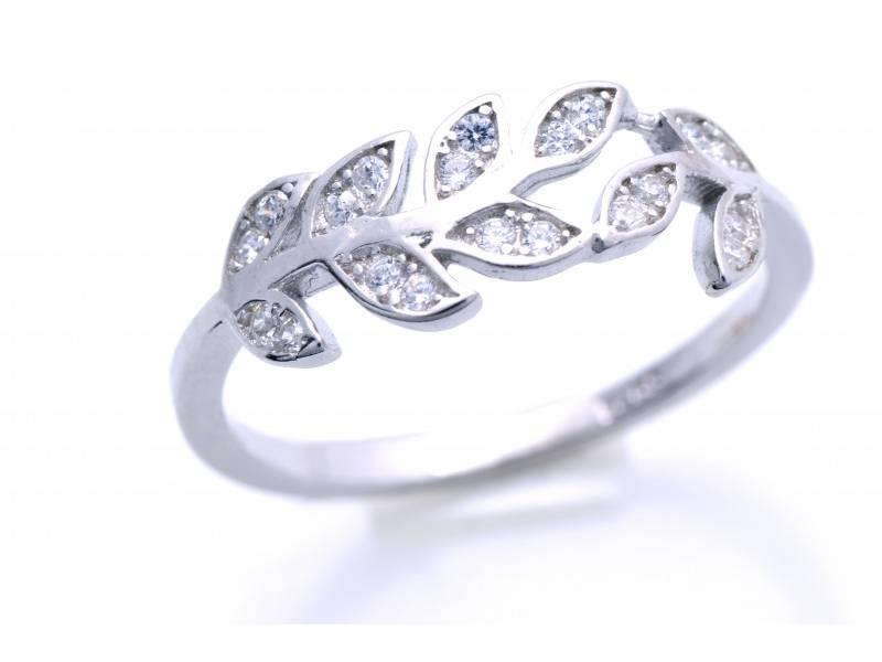 Inel argint 925 frunzulite