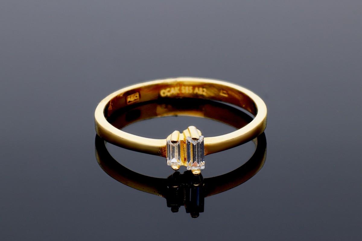 Bijuterii aur online - Inel dama aur 14K galben