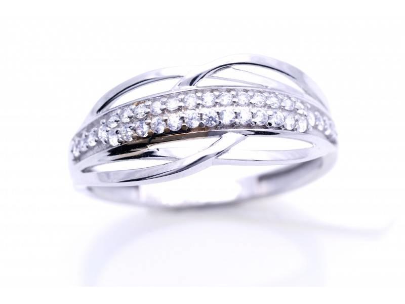 Inele dama aur 14K alb bijuterii