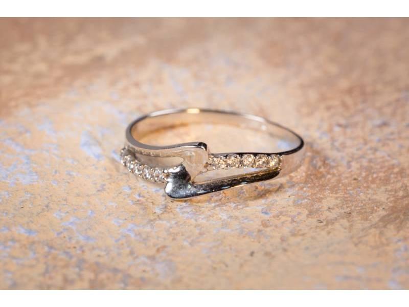 Inel aur cadouri bijuterii model deosebit