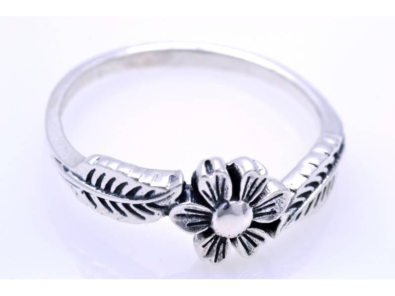 Inel bijuterii argint 925 floricica