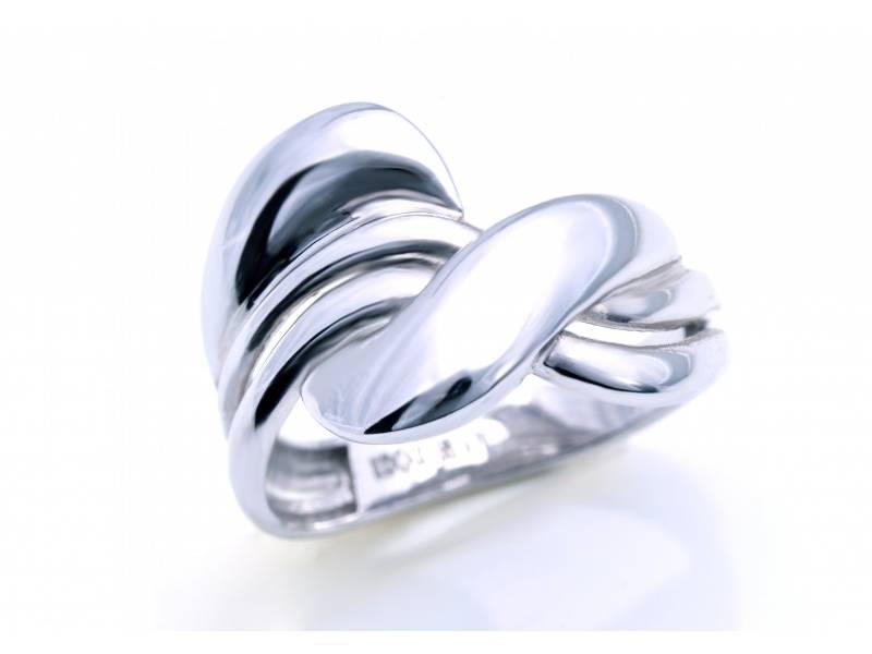 Inel cadouri bijuterii aur alb 14 k