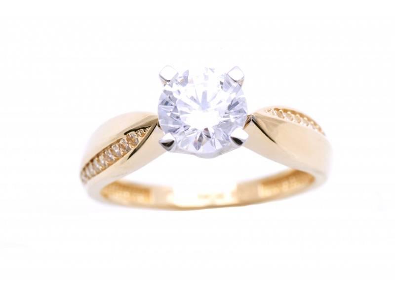 Inel de logodna aur  14K