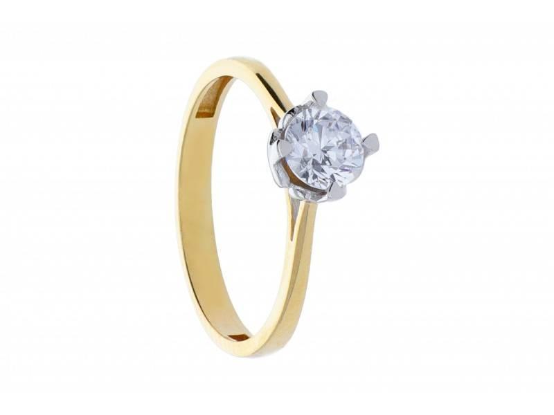 Inel de logodna cadouri bijuterii aur