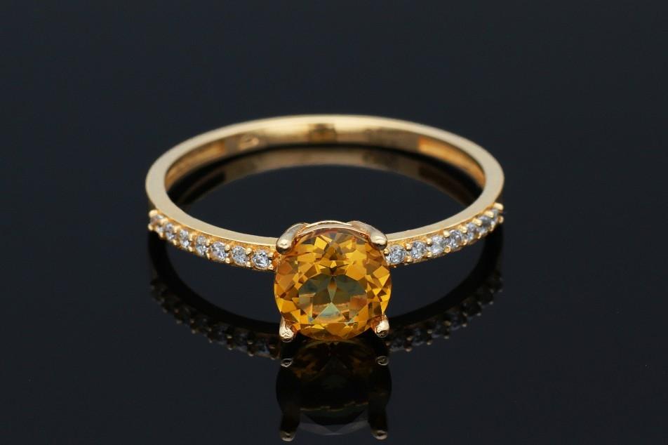 Inel din aur 14K galben