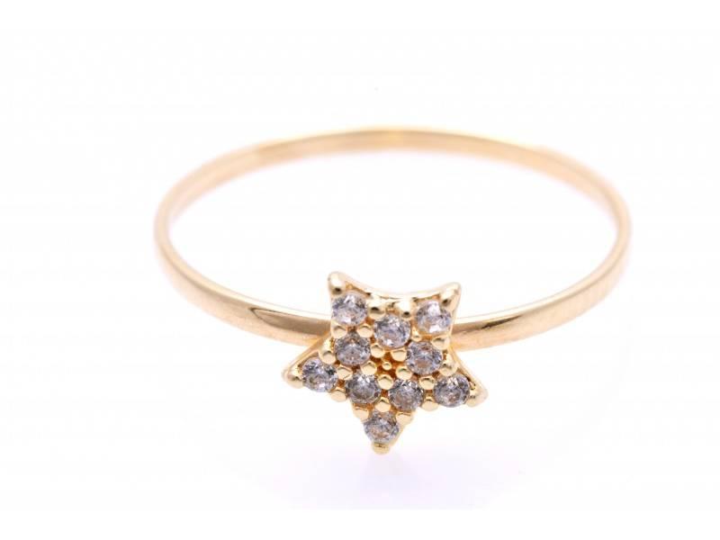 Inel pentru copii bijuterii aur 14k