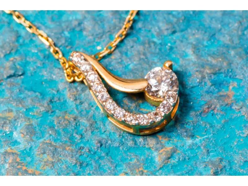 Lant cu pandant bijuterii aur 14 k