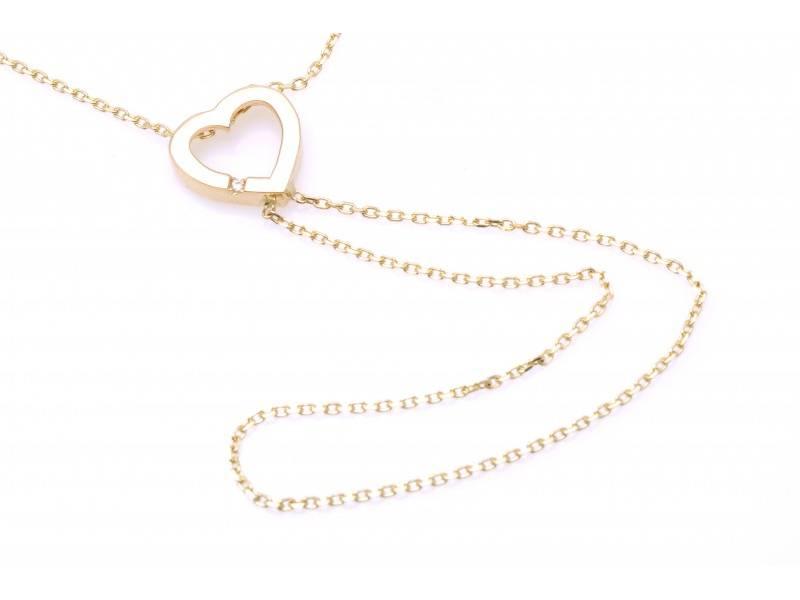 Lant cu pandant cadouri bijuterii cu zirconii inimioara