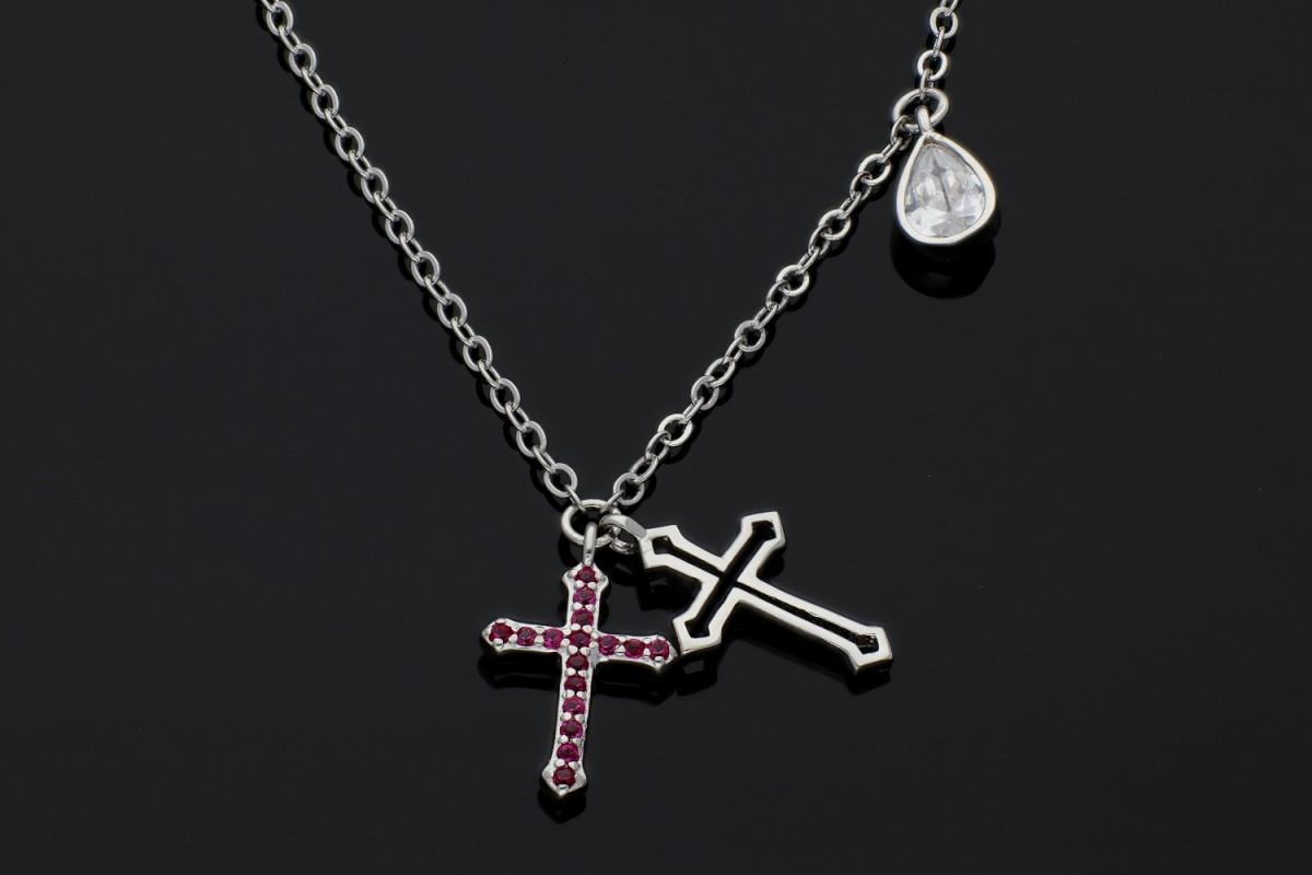 Lant cu pandant cruciulite bijuterii argint online