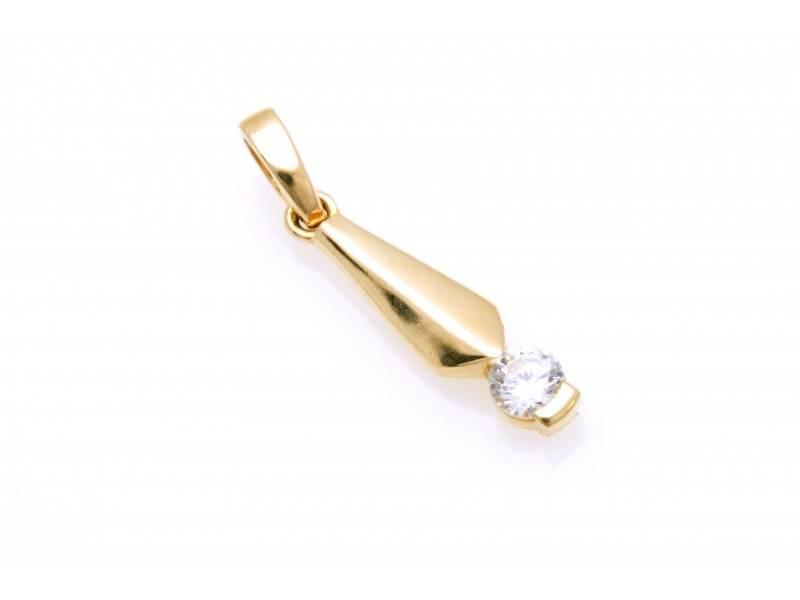 Medalion aur 14K bufnita bijuterii online