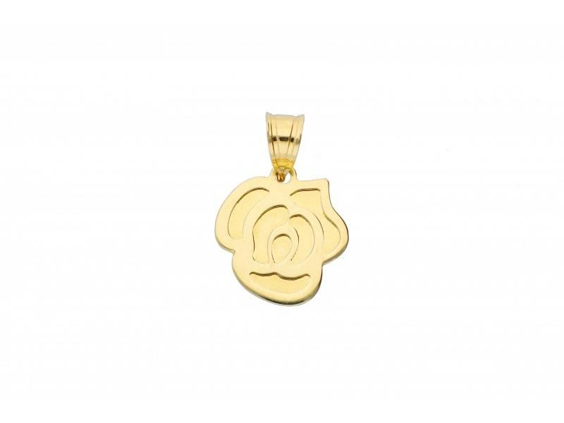 Medalion aur 14K