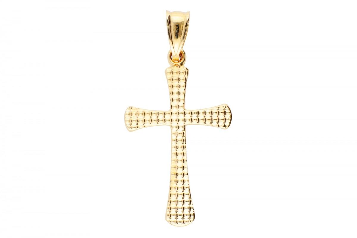 Bijuterii aur online - Cruciulita din aur 14K galben