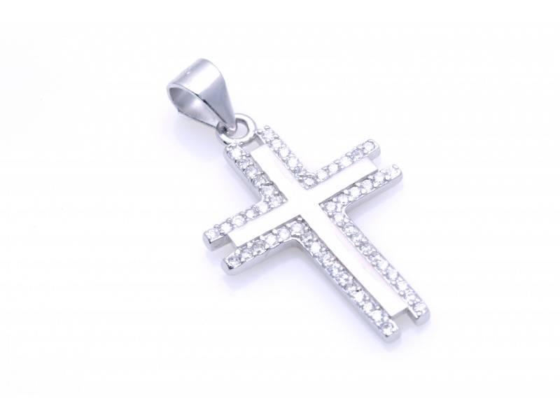 Pandant argint 925 cruce