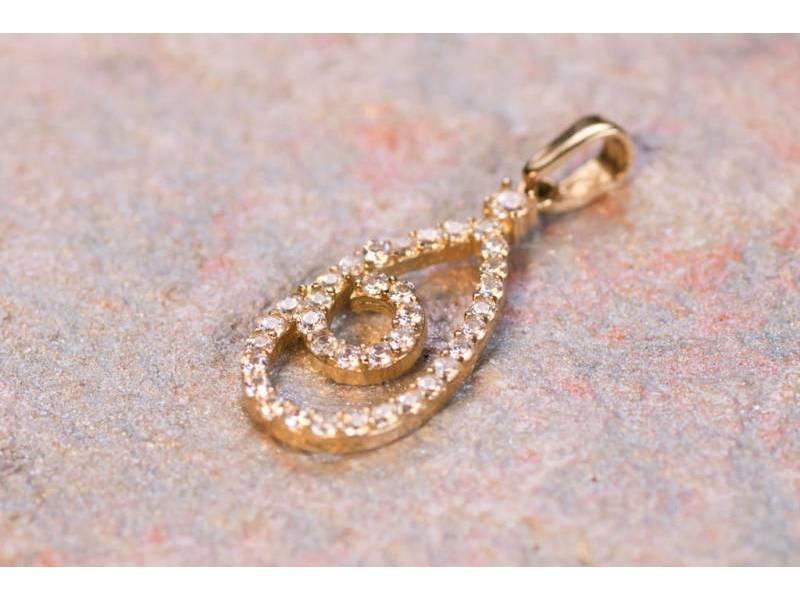 Pandant aur 14K cadouri bijuterii