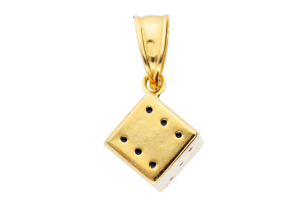 Bijuterii din aur - Pandant dama din aur 14K galben zar