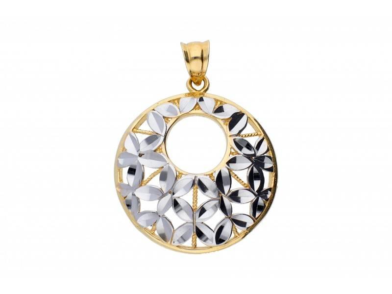 Pandantiv aur 14K bijuterii dama