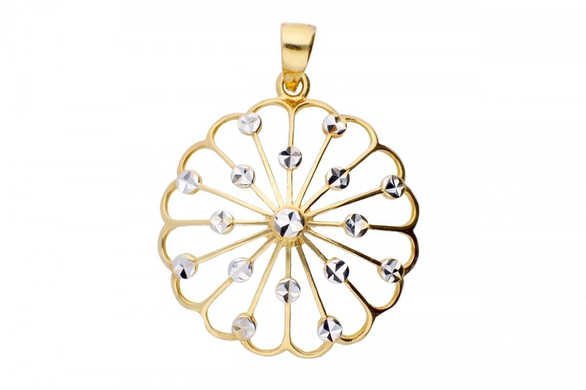 Bijuterii din aur - Medalioane din aur 14K galben