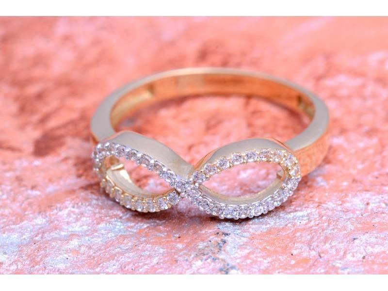 Set aur 14 k bijuterii deosebite model infinit