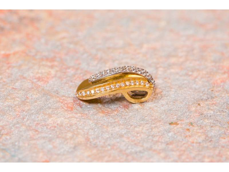 Set inel,cercei,pandant bijuterii aur 14 k