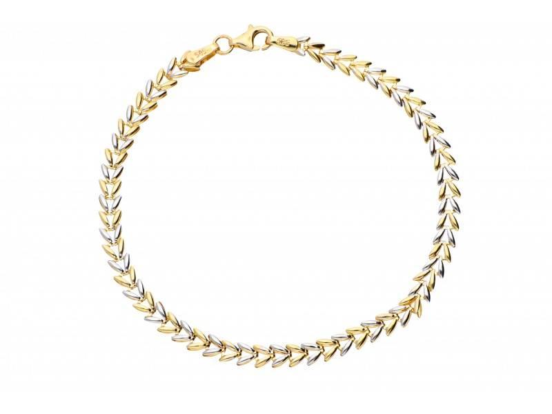 Set lant bratara bijuterii aur 14k model unisex