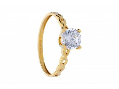Bijuterii aur 14k inel de logodna