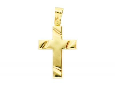 Bijuterii aur 14k pandantiv cruce