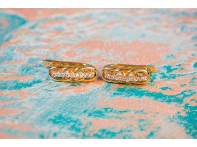 Bijuterii aur cercei 14k