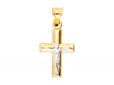 Bijuterii aur cruciulita cu Iisus