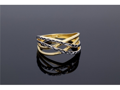 Bijuterii aur inel dama