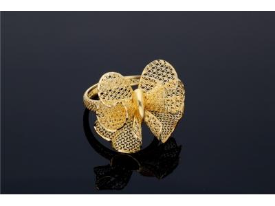 Bijuterii aur inel fundita filigran