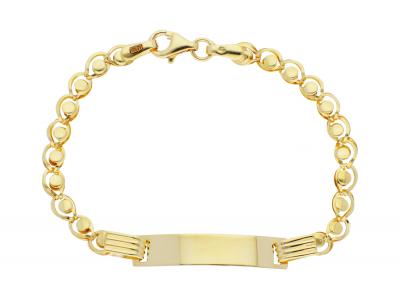Bijuterii aur online - Bratari copii din aur 14K galben