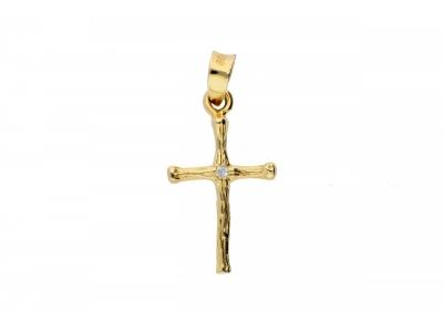 Bijuterii aur pandantiv cruciulita