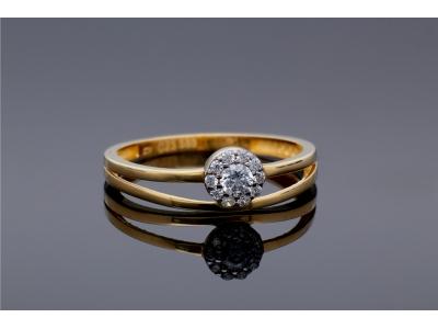 Bijuterii dama inel aur 14K