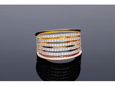 Bijuterii deosebite inel aur 14k