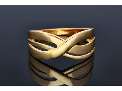 Bijuterii din aur - Inel aur 14K galben