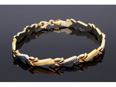 Bratara aur 14 k bijuterii dama