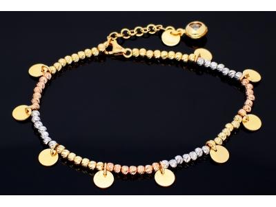 Bratara aur 14K bijuterii dama banuti