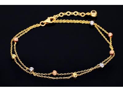 Bratara aur 14K bijuterii dama bilute
