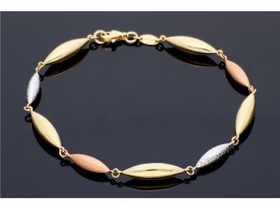 Bratara aur 14K bijuterii dama lacrima