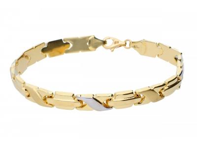 Bratara barbateasca bijuterii aur cadou