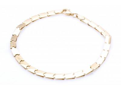 Bratara dama bijuterii aur cadou 14K